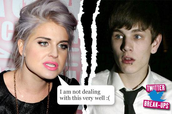 Twitter break-ups: Kelly Osborne and Luke Worrall