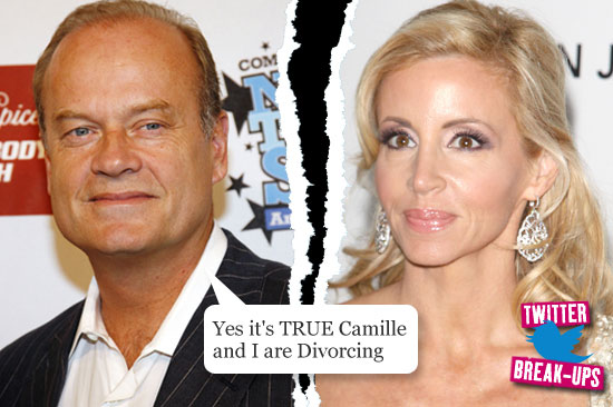 Twitter break-ups: Kelsey and Camille Grammer
