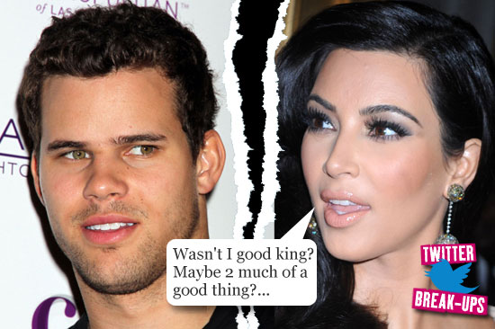 Twitter break-ups: Kim Kardashian and Kris Humphries