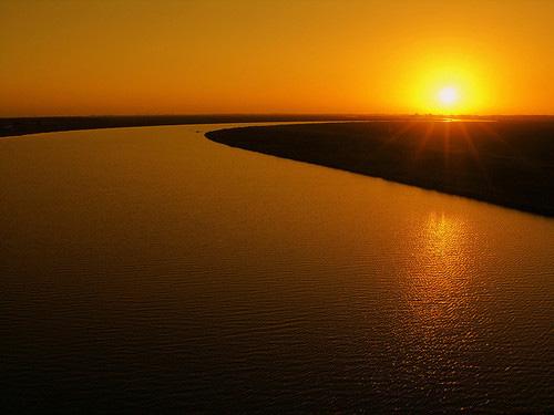 Pelotas sunset