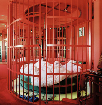 Caged Bed Love Hotel