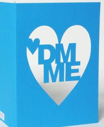 DM ME Valentine's Card