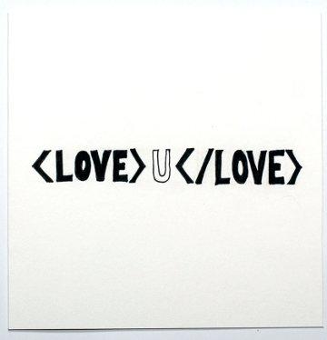 IT Geek Valentine's Card