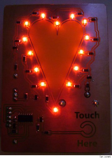 LED Valentine's Card