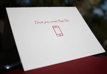 Smartphone Valentine's Card