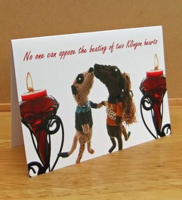 Trekkie Valentine's Card