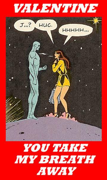 Watchmen Valentine's Card