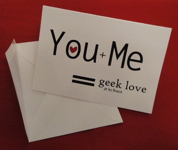You + Me = Geek Love