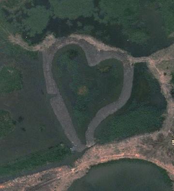 Heart-Shaped Wetland, Guandu Nature Park, Taiwan