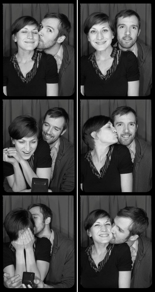 Romantic photobooth snaps - Pic 6
