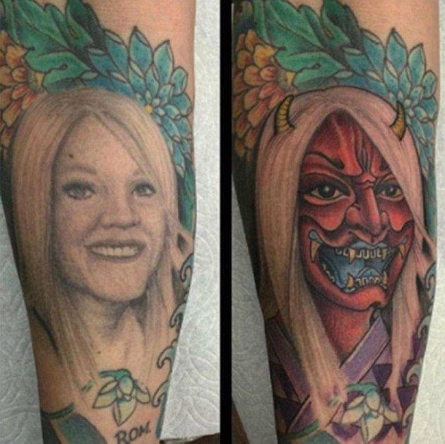 tattoo devil