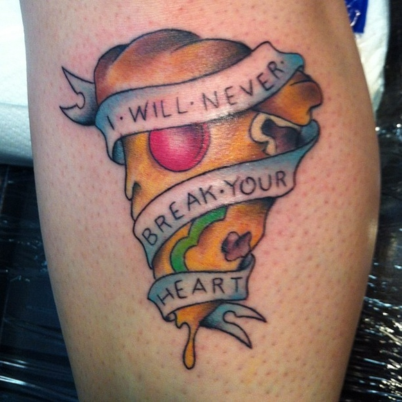 tattoo pizza