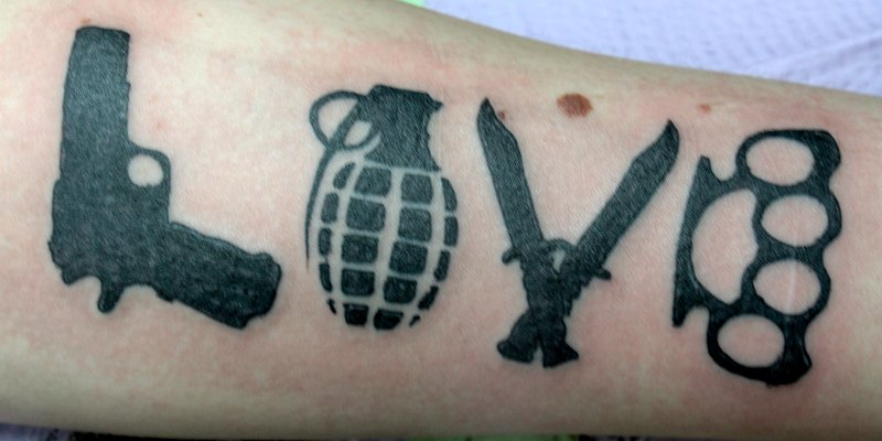 tattoo weapon
