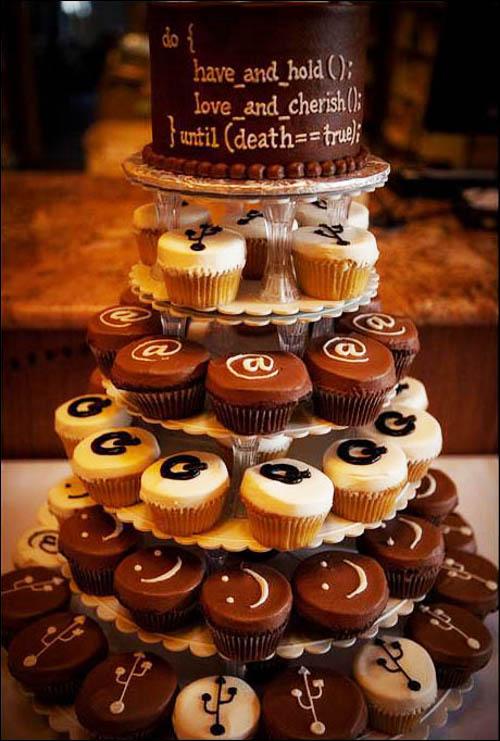 Geeky Wedding Cake
