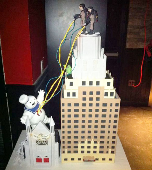 Ghostbusters Wedding Cake