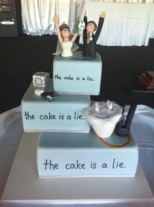 Honest Wedding Cake