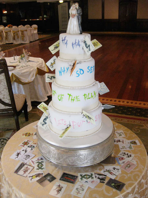Joker Wedding Cake