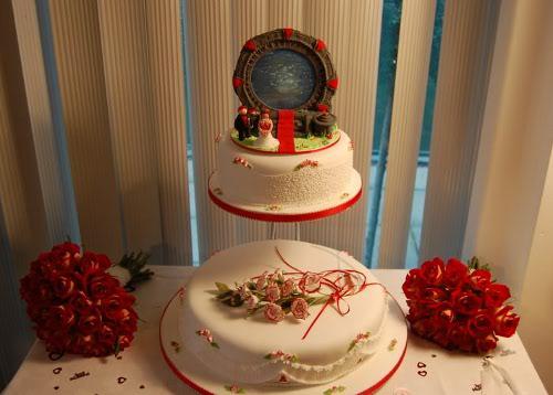Stargate Wedding Cake