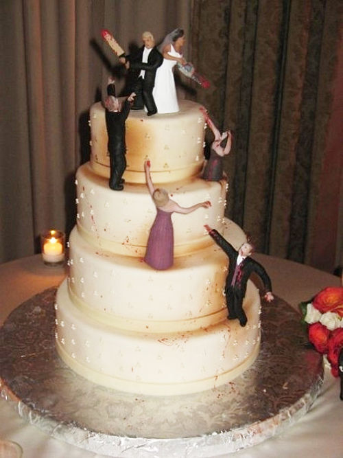 Zombies Wedding Cake