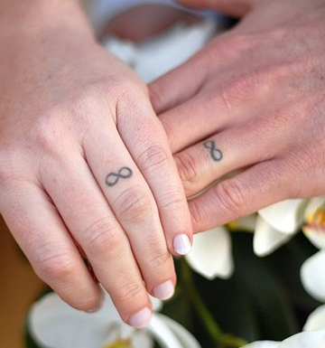 Wedding Tattoos Pic. 4
