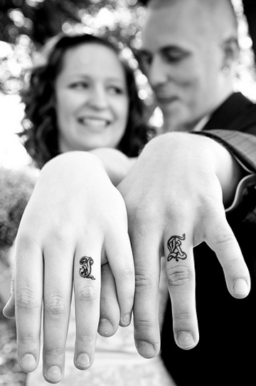 Wedding Tattoos Pic. 8