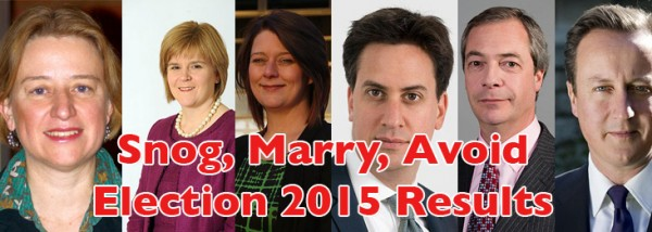 Snog, Marry, Avoid Election 2015