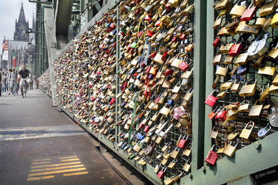 Love padlocks - Cologne, Germany