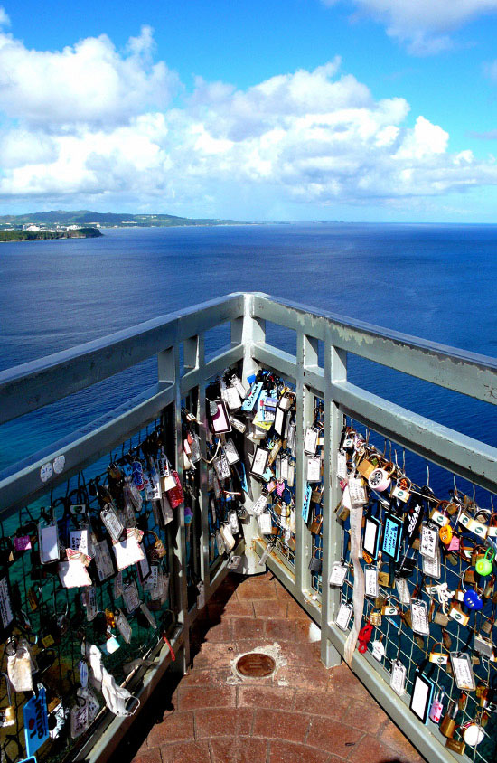 Love padlocks - Guam, USA