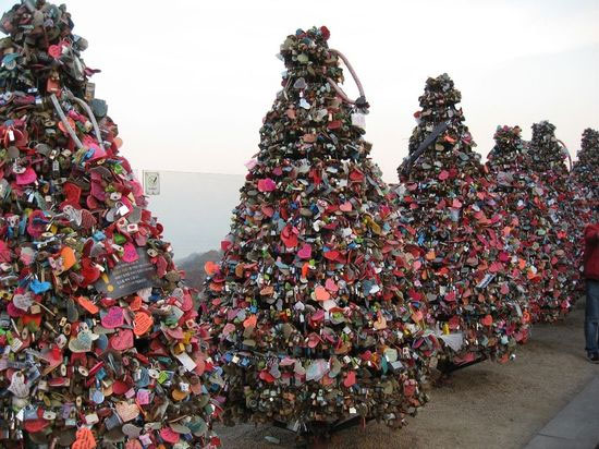 Love padlocks - Seoul, South Korea